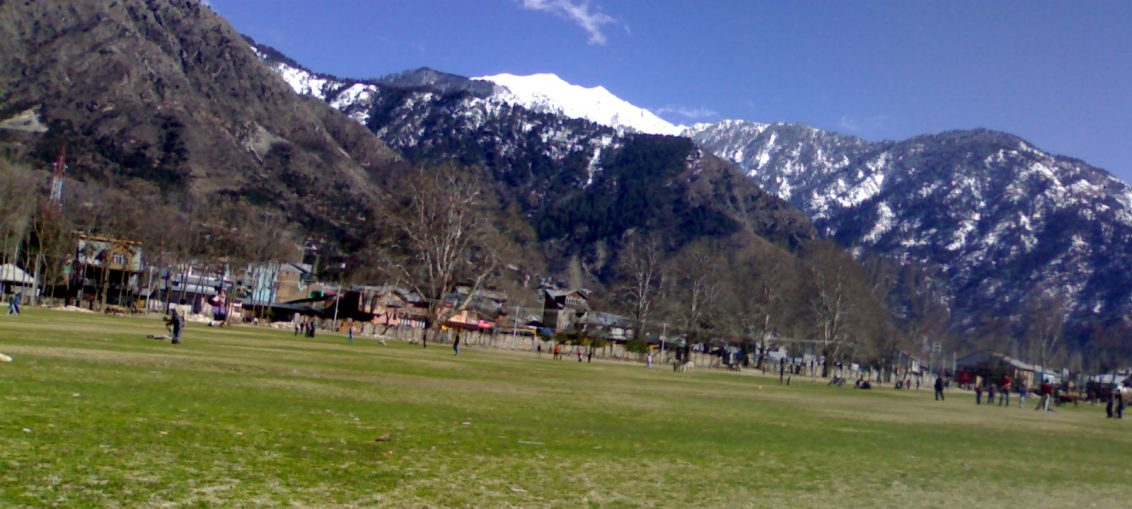 Chowgan - play ground of Kishtwar