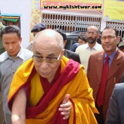 His Holliness Dalai Lama's visit to paddar