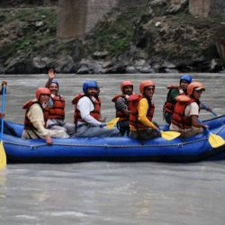 River Rafting at Paddar