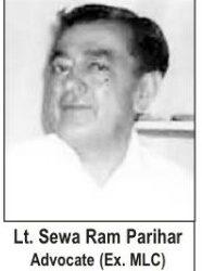 Lt. Sewan Ram Parihar