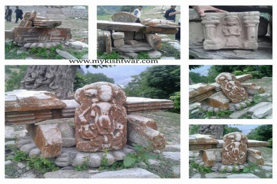 sculptures of Maa Kali at Nagseni
