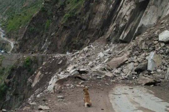 Landslide at Kuligarh